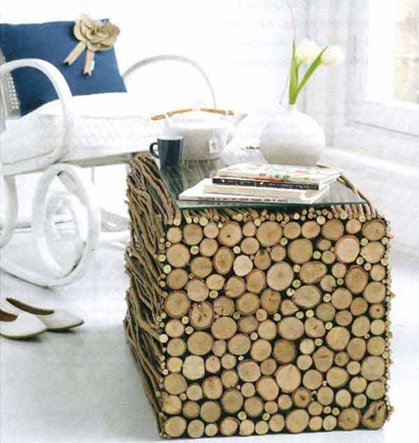 Fab-Art-DIY-Rustic-Log-Decorating-Ideas-for-Home-and-Garden8