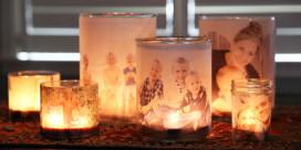 Zářivé fotografie 2v1 – svícen z vašeho rodinného alba